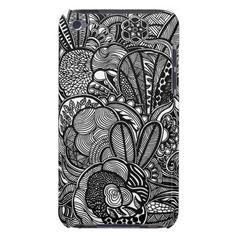 A unique Gardens #2 hand drawn art iPod case iPod Touch Case