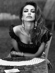 Famous Italians ~ Madalina Ghenea (not really Italian , but lives in Italy, speaks Italian, models in Italy and for big known Italian brands etc