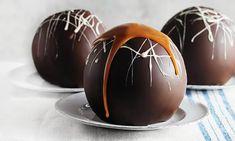 Chocolate Shells, Chocolate Bomb, Hot Chocolate Bars, Chocolate Orange, Chocolate Truffles, Vegan Chocolate, Chocolate Desserts, Melting Chocolate, New Year's Desserts