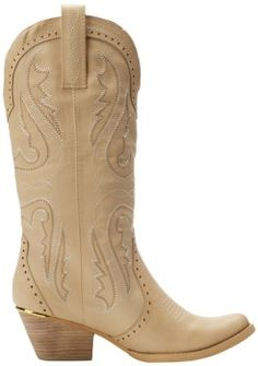 beige cowboy boots for women for fashion 2014