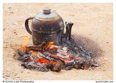 Bedouin Tea, served extra sweet. Western Desert, Egypt. Photo: Quintin Lake