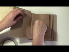 How to use Magnets in Mini Albums, Craft projects and Storage - YouTube