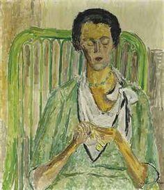 hans berger Oil On Canvas, Knitting, Image, Art, Women, Tricot, Paint, Socks, Solothurn