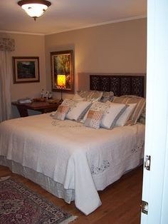 Master Bedroom Decorated on a budget!