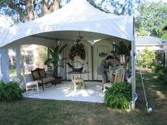 How to make a wedding porta potty less gross and more awesome