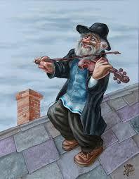 Fiddler on the Roof Pintura por Victor Molev | Artmajeur Fiddler On The Roof, Arte Pop, Hamsa Hand, Hipster, Artwork, Style, Drawing Techniques, Pintura, Mosaics