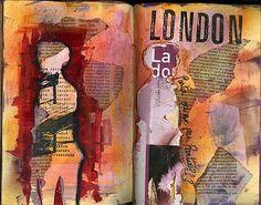 Carnet de voyage ...Londres octobre 2009 - Les doigts bavards