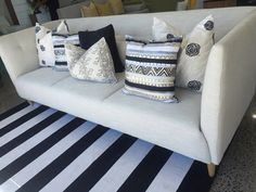 Sofa option & colour Colorful Furniture, Staging, Sofa, Throw Pillows, Colour, Bed, Style, Role Play, Color