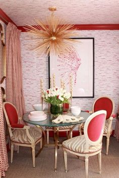bd376ea6f87c 50 Favorites for Friday  Beautifully Colorful Rooms Red Interior Design