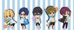 Free! - Iwatobi Swim Club, haruka nanase, haru nanase, haru, nanase, free!, iwatobi, makoto tachibana, makoto, tachibana, rin matsuoka, matsuoka, rin, nagisa hazuki, nagisa, hazuki, rei ryugazaki, rei, ryugazaki