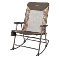 Magellan Outdoors Oversize Folding Rocker Brown   Patio  Furniture/Accessories, Collapsible Furniture At Academy Sports