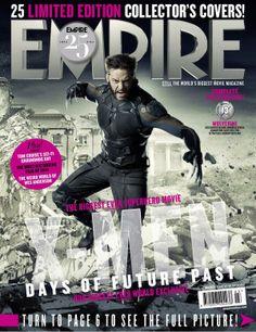 Empire X-Men: Days Of Future Past Cover Wolverine (Hugh Jackman) X Men, Empire, Marvel Comics, Marvel Vs, Deadpool, Avengers, Bryan Singer, Wes Anderson Movies, Film World