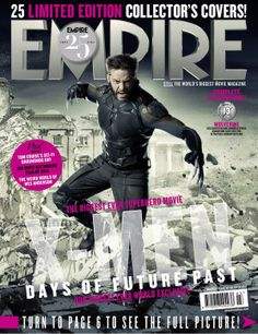 EMPIRE Magazine - 25 Limited Edition Collector's Covers - Future Wolverine