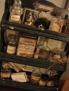 Victorian ipothecary
