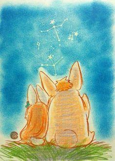 ichigo and orihime bunny