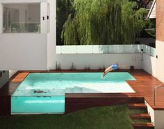 Devoto House Pool - Urban In-fill w/ Modern Design (and a very cool swimming pool.)