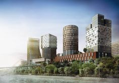 Реконструкция завода «КРИСТАЛЛ» #2 #BADR5 Skyscraper, Multi Story Building, Projects, 3d, Log Projects, Skyscrapers, Blue Prints
