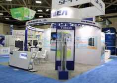 TBEA dallas,America,English Booth Design,TBEA Co., Ltd. Exhibition Hall Planning【Demage English Exhibition Company】