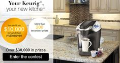 Win a $10,000 Kitchen Makeover from Keurig