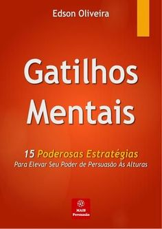 "Cover of ""Gatilhos mentais"" Books To Read, My Books, Psych, Lie To Me, Blog Love, Stupid Funny Memes, Book Recommendations, Love Book, Writing A Book"