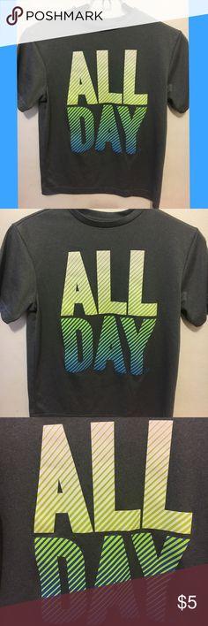 """All Day"" OldNavy Boys T-Shirt ""All Day"" OldNavy Boys T-Shirt (Size M, 8 Regular Standard) Old Navy Shirts & Tops Tees - Short Sleeve"