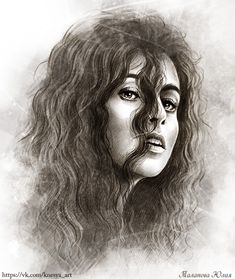 Bellatrix Lestrange by Knesya27.deviantart.com on @DeviantArt