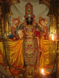 Golden saree to Mother Padmavathi in Tirupati, pl share as soon as u see this with others