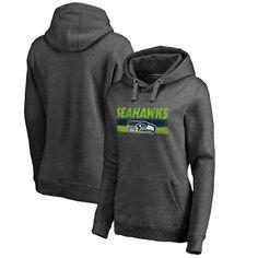 #Valentines #AdoreWe #Fanatics.com - #NFL Pro Line by Fanatics Branded Seattle Seahawks NFL Pro Line by Fanatics Branded Women's First String Pullover Hooded Sweatshirt – Charcoal - AdoreWe.com