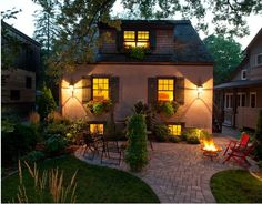 DIY Inspiring Patio Design Ideas - love the curved patio