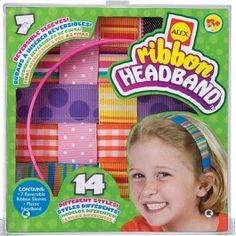 Ribbon Headband Girls Craft Kit 1597 Educationaltoysplanet