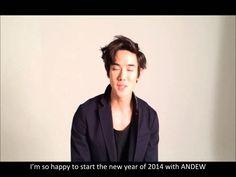 [Yeoniverse] Yoo Yeon Seok's New Year greetings with Andew