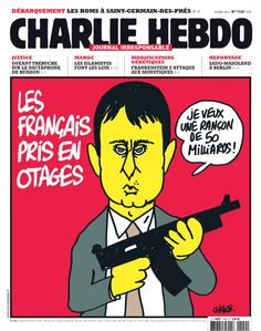 Charlie Hebdo - # 1140 - 23 Avril 2014 - Couverture : Charb