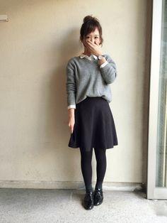 haru ◎│WEGOのニット・セーターコーディネート-WEAR