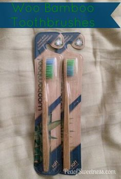 WooBamboo Eco-Friendly Toothbrushes