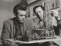 James Dean y Boris Leven