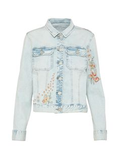 Jacket made of bright jeans fabric by SisterS point  aboutyoude. The  classic design is 72ecea363a