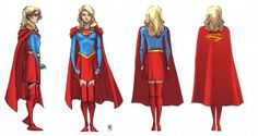 Supergirl concept art DC Rebirth
