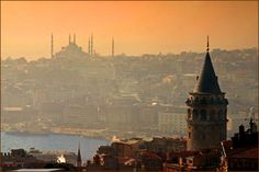 Istanbul - Galata Tower   (The tower was built as Christea Turris (Tower of Christ) in 1348 during an expansion of the Genoese colony in Istanbul)