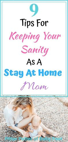 9 Tips For Keeping Your Sanity As A Stay At Home Mom – Being a stay at home mom comes with stress, being lonely and daily struggles. Overtime, you can begin to suffer mommy. Mama Baby, Mom And Baby, Daily Schedule Kids, Mom Schedule, Mom Advice, Parenting Advice, Leiden, Routine, Stress
