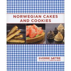 A wonderful collection of traditional recipes for the modern kitchen from Sverre Saetre, Norway's acclaimed pastry chef. Enjoy cakes, tarts, puddings, candied fruits, chocolates and more. Take your hand at creating Nut Macroons with Apple Cream, Thick Lefses with Blueberry Butter, World's Best Cake, Sweet Cookies and more. Hard cover, color photos, 157 pages, ©2012.