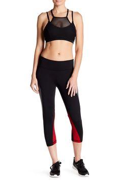 Raw Edge Capri Legging by Zobha Activewear on @HauteLook