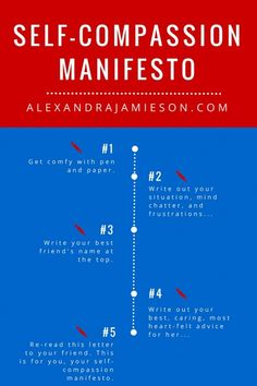 How to Write Your Self-compassion Manifesto