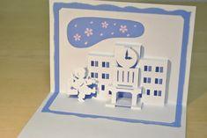 1年生  First grader [Origamic Architecture , Pop up card , kirigmi , 折り紙建築 , ポップアップカード]
