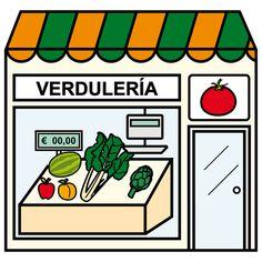 Pictogramas ARASAAC - Verdulería.