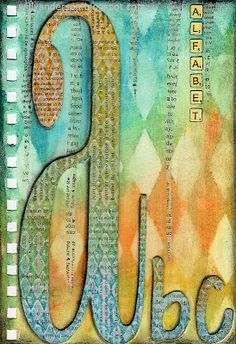 Alphabet Journal: A is for Alphabet
