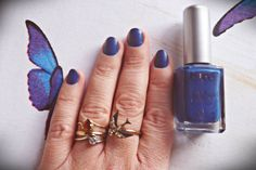 denim nails www.makemetrucco.blogspot.it