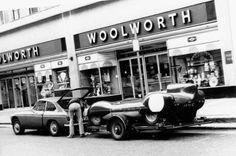 Stuff we like - Auto Reverse Classic Cars British, Classic Race Cars, Vintage Sports Cars, Vintage Race Car, Le Mans, Sports Car Racing, Racing Team, Auto Racing, Automobile