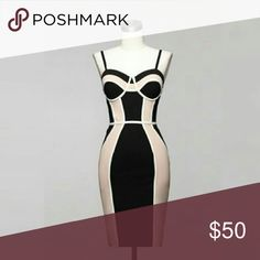 Mimi: The Bodycon Dress The perfect bodycon dress. It fits like a glove. Item runs small. Made of polyester and spandex. Dresses
