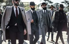 "sprezzaturaeleganza: ""Pitti 89 Source: Photo The Sun """