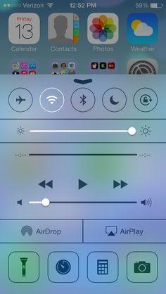 Apple iOS7 Tips and Tricks